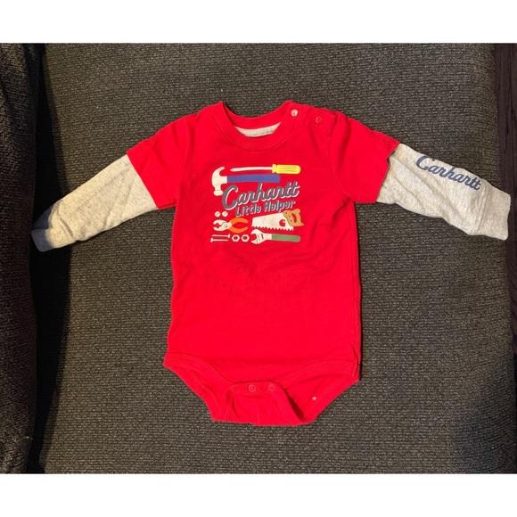 1a0228a02 Carhartt Baby Boy Bodysuit 5/$20